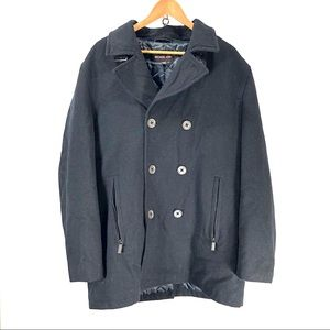 Michael Kors wool pea coat extra large